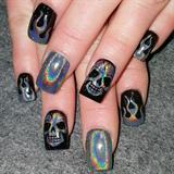 Hologram skulls