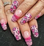 Leopard valentines