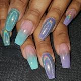 Halo nails