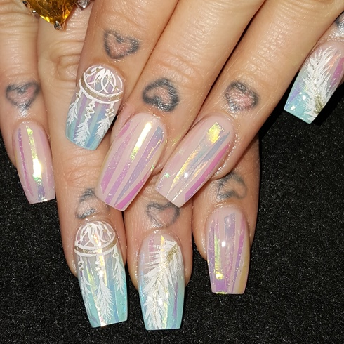Opal dreamcatchers