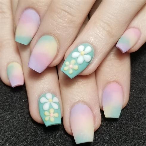 Matte flowers