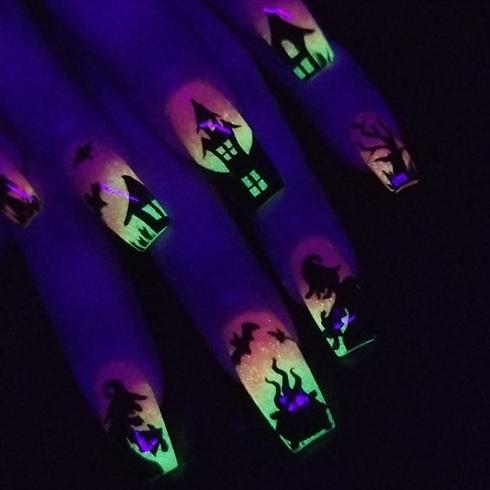 Glow in the dark Halloween