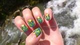 Egipt colorful nails