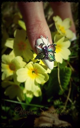 3D Acrylic buterfly (practice)