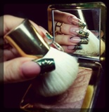 Green royal nails