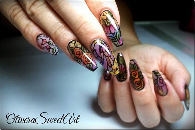 Vitrage nails