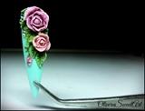 3D Acrylic Roses