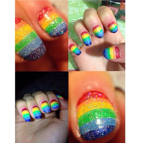 Rainbow Holo Design