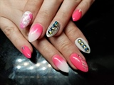 Flashy pink