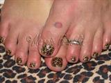 Leopard Rockstar Toes