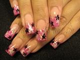 Pink Rockstar with Stars