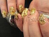 Janet's rockstar gels in gold