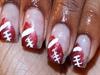 Football Nail Art Design