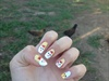 Chicken Nails Art