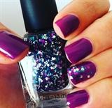 Purple + Glitter