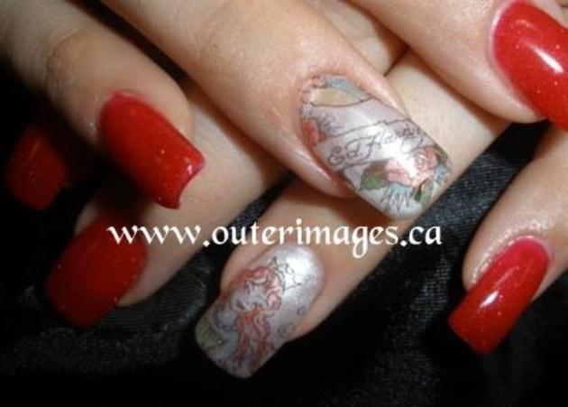 Ed Hardy Nails