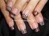 Barbara's Birthday Burberry Nails
