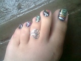 Rock star toes