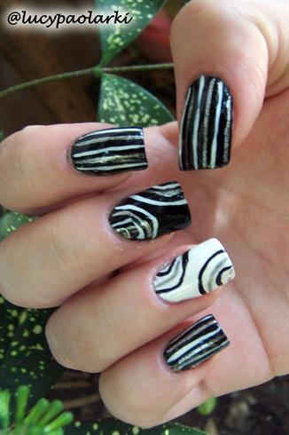Nail art Inspired by oli124 :)