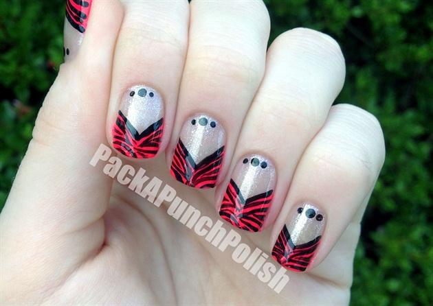 Zebra V French Tip