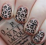Nude, Glitter, Leopard Print