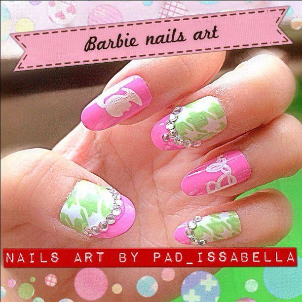 Barbies Nails Art Nail Art Gallery
