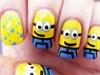 Cute Minion Nails