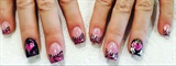Devil And Angel Nail Design TY Oli123