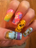 My Pooh nails!