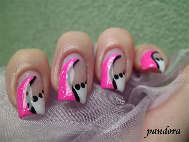 Pink & white