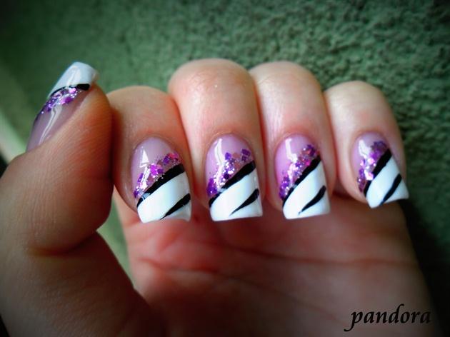 Purple Nail Art Nail Art Gallery