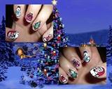 2012 Christmas Nails