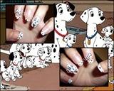101 dalmatians nails