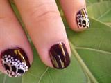 ´´Butterfly´´ Flower Nail Art