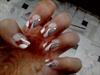easy one stroke nail art
