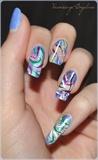 Abstract Nail design