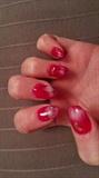 red marbling