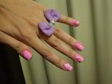 Pink #marblenails