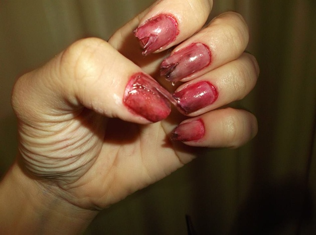 zombie - the walking dead nails