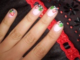 nail art made with fimo