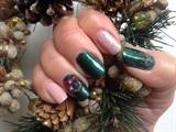 X-Mass nails done by myself to myself 🤗