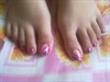 my toe nail art