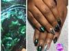 Green Graduation Nails