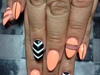 Peachy chevron