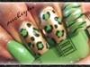 Green leopard spots