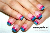 Hello Kitty Stamping Nail Art