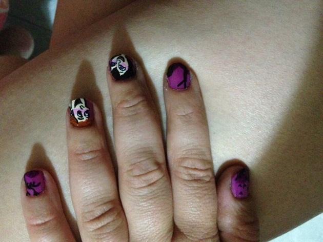 Helloween Nail Art