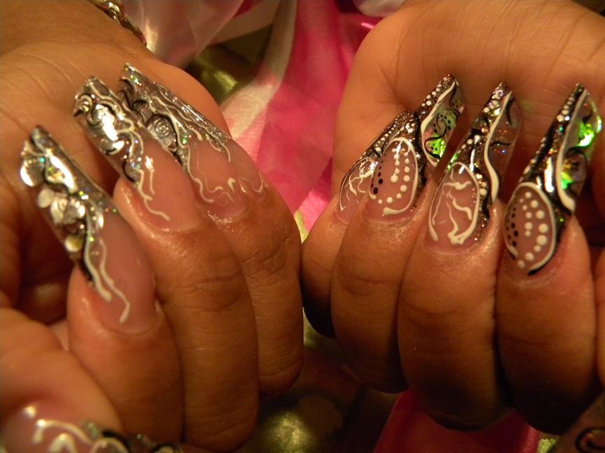 edge nails and designs - Nail Art Gallery