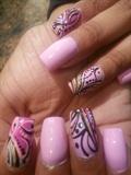 acrylic nails and polish