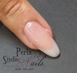 Acrylic almond shape